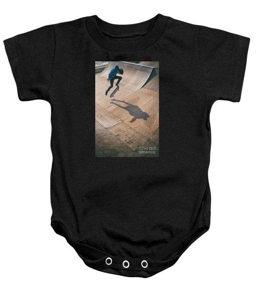 Skater Boy 001 Baby Onesie