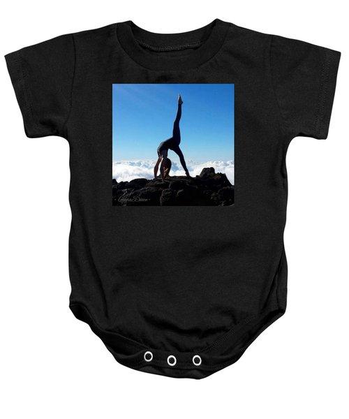 Sky Yoga Baby Onesie