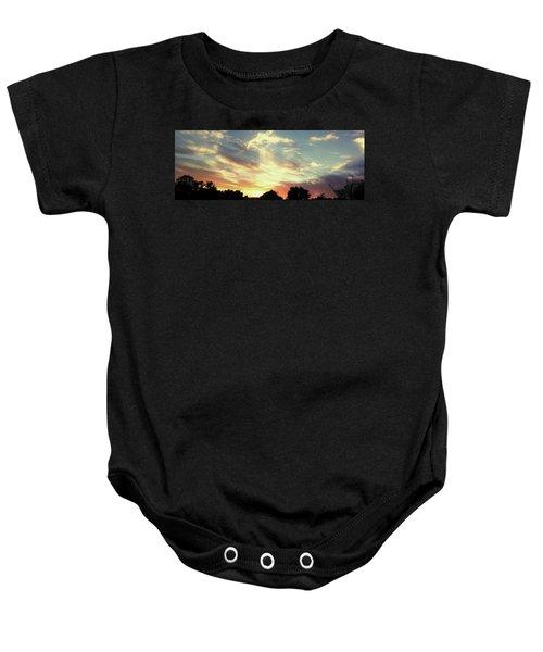 Skyscape Baby Onesie