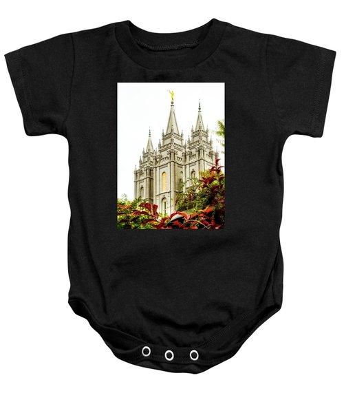 Slc Temple Angle Baby Onesie
