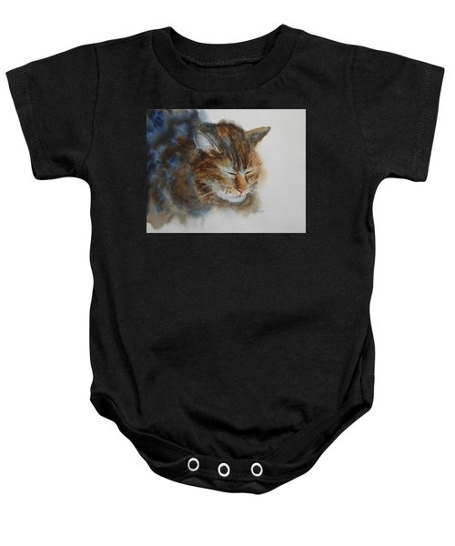Sleeping Tiger Baby Onesie