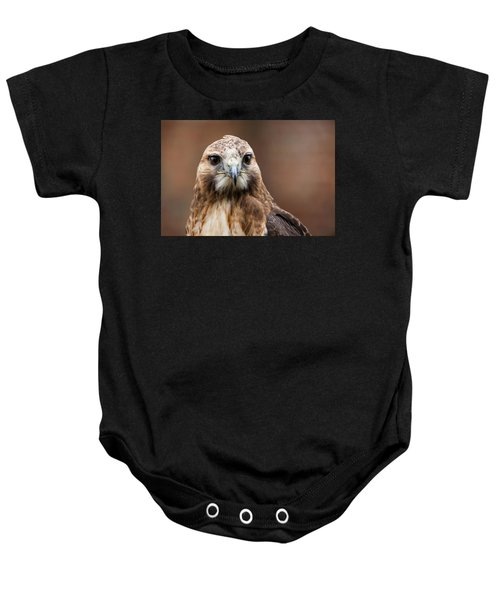 Smiling Bird Of Prey Baby Onesie