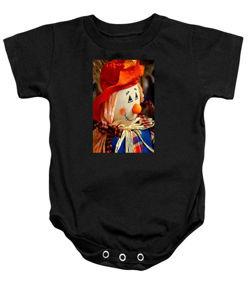 Smiling Face 2 Baby Onesie