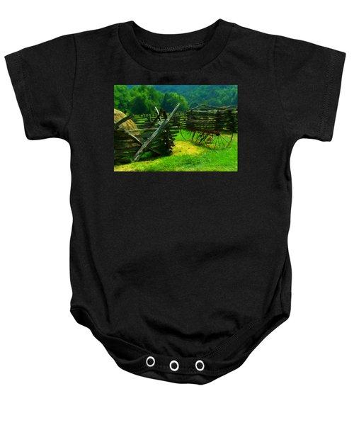 Smoky Mountain Farm 1900s Baby Onesie