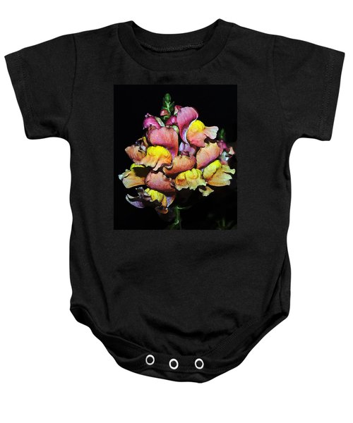 Snapdragons Baby Onesie