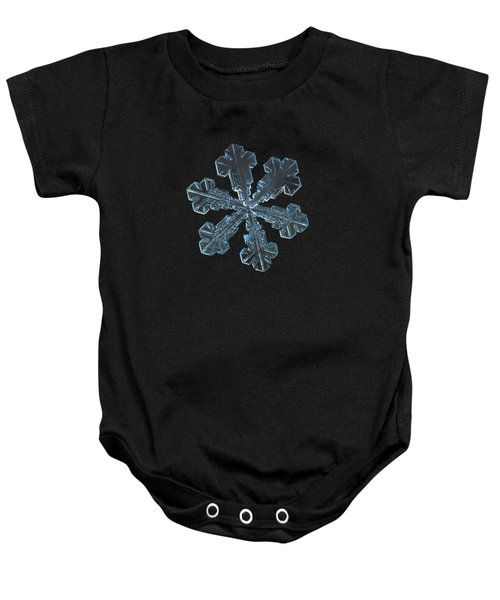 Snowflake Photo - Vega Baby Onesie