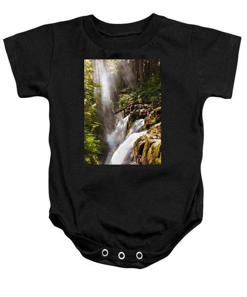 Sol Duc Falls Baby Onesie