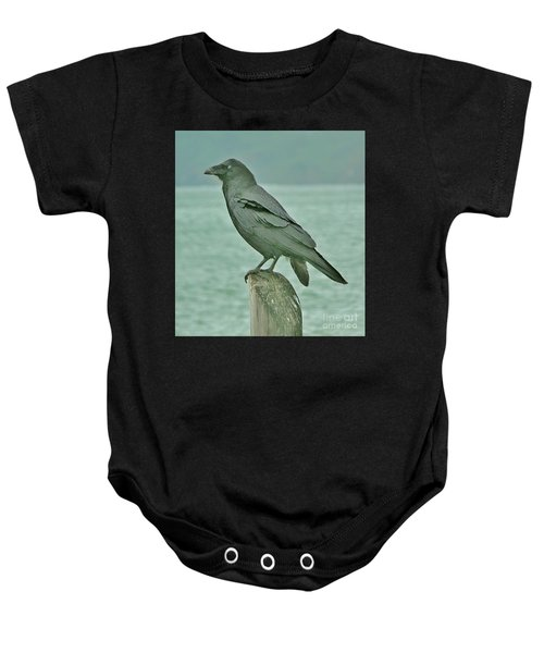 Something To Crow About Baby Onesie