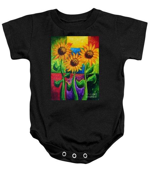 Sonflowers II Baby Onesie