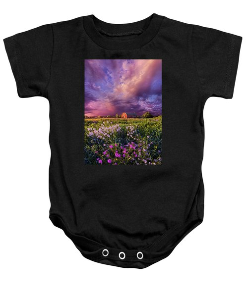Songs Of Days Gone By Baby Onesie