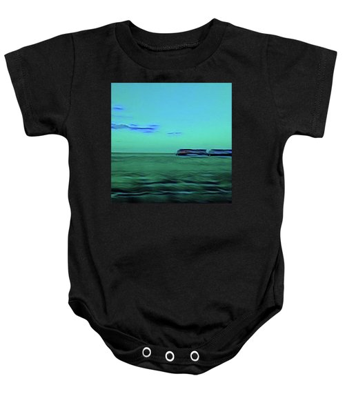 Sound Of A Train In The Distance Baby Onesie