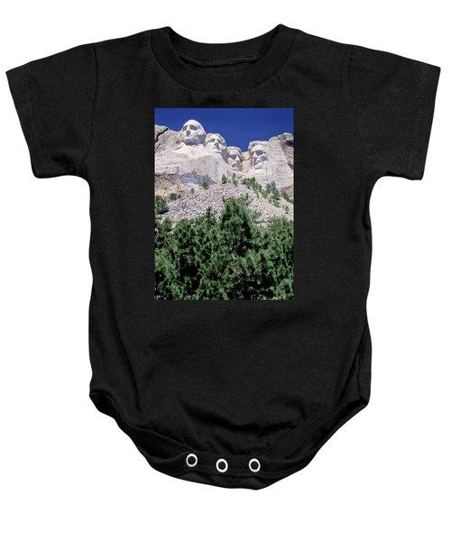 South Dakota, Keystone  Mount Rushmore Baby Onesie