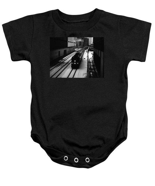 South Loop Railroad Baby Onesie