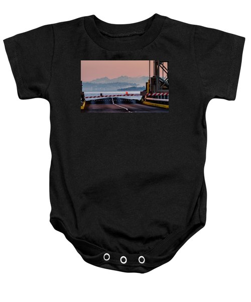 Southworth Ferry Terminal - End Of State Highway 160 Baby Onesie