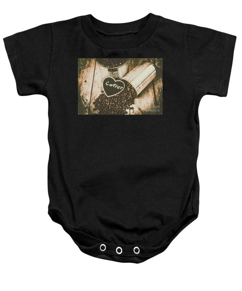 Spilling The Beans Baby Onesie