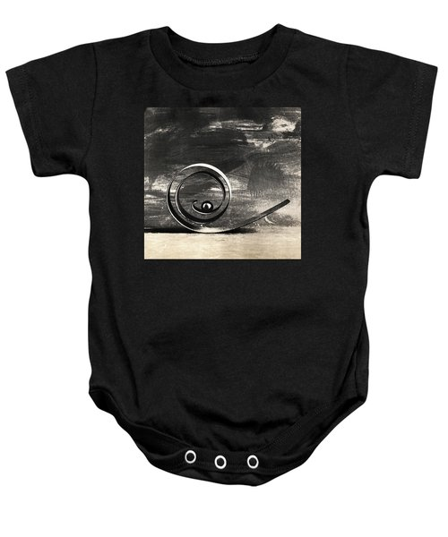 Spiral And Ball Baby Onesie
