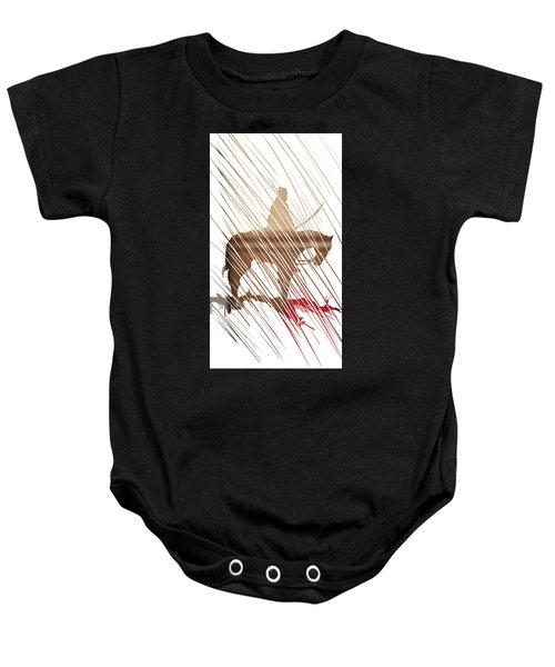 Spirit Animal . War Horse  Baby Onesie
