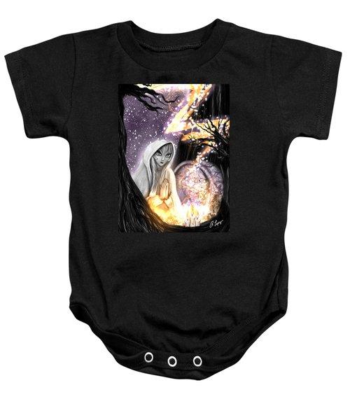 Spiritual Ghost Fantasy Art Baby Onesie
