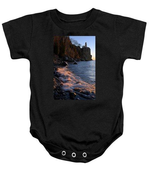 Split Rock Lighthouse At Dawn Baby Onesie