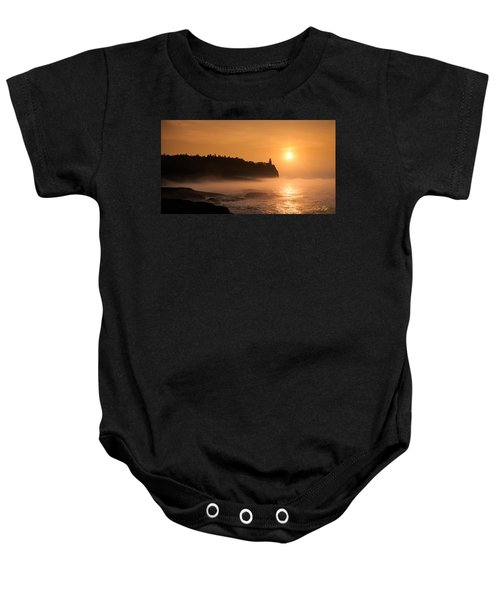 Split Rock's Morning Glow Baby Onesie