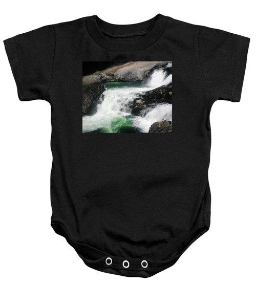 Spokane Water Fall Baby Onesie