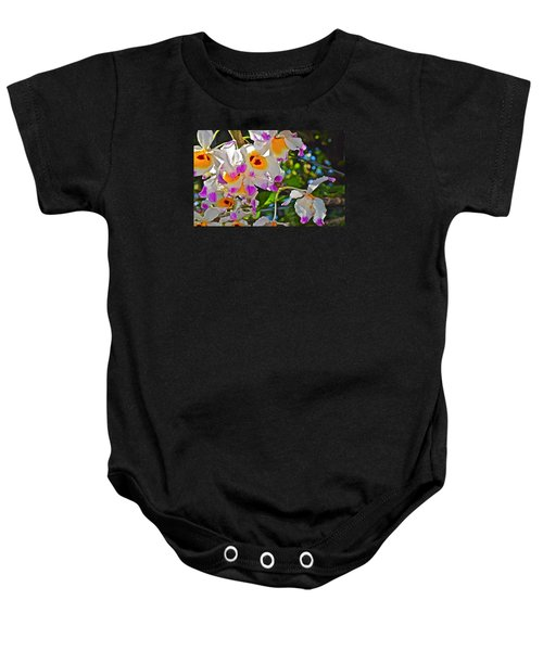 Spring Show 15 Brazilian Orchid Baby Onesie