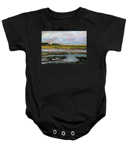 Springtime In The Marsh Baby Onesie