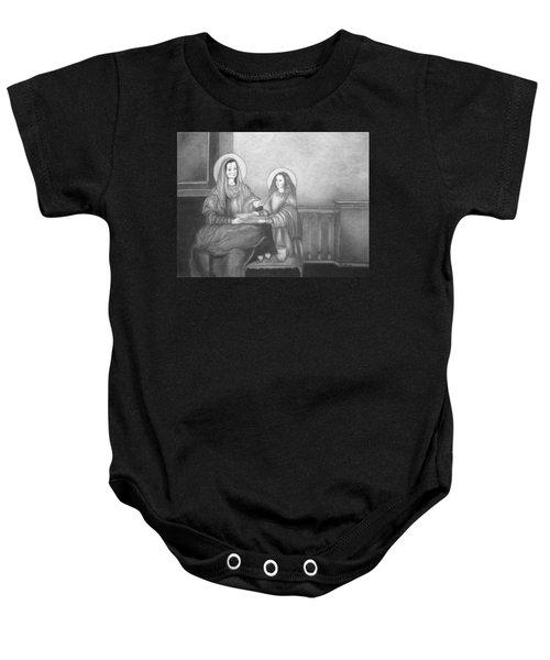 St. Anne And Bvm Baby Onesie