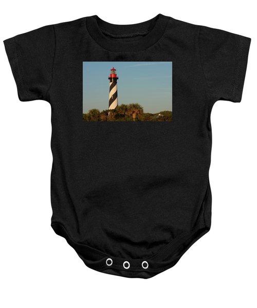 St. Augustine Lighthouse #3 Baby Onesie