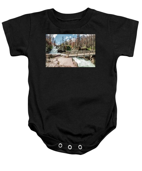 St. Mary Falls With Bridge Baby Onesie