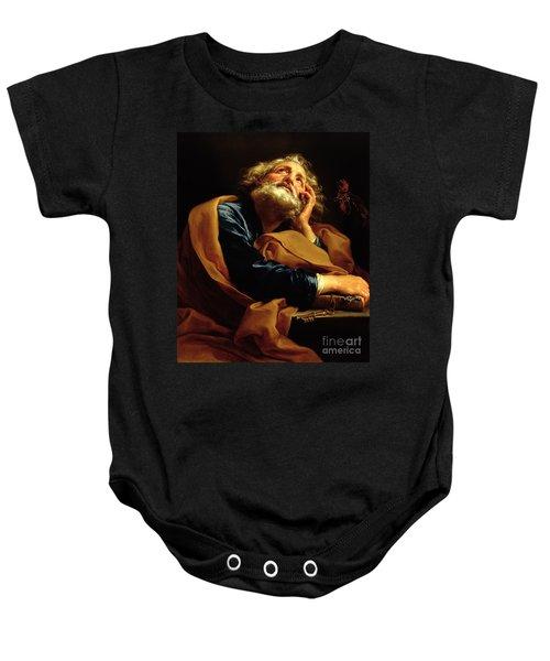 St Peter Baby Onesie