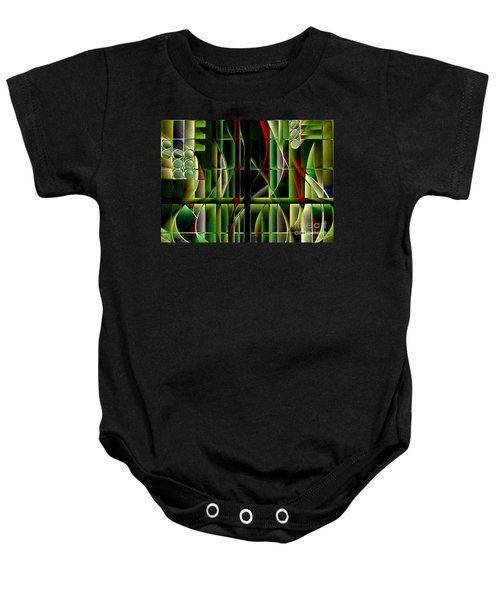 Stained Glass 2 Baby Onesie