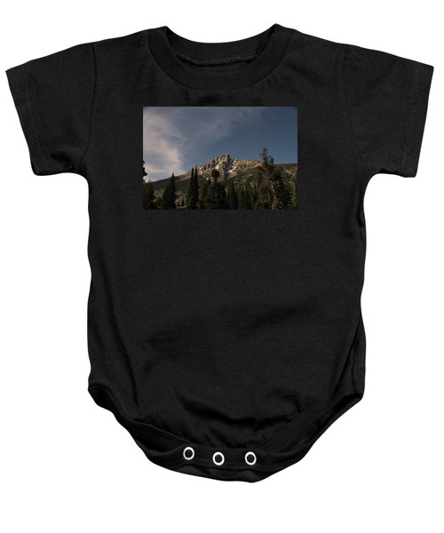 Stars Over Grand Teton Baby Onesie