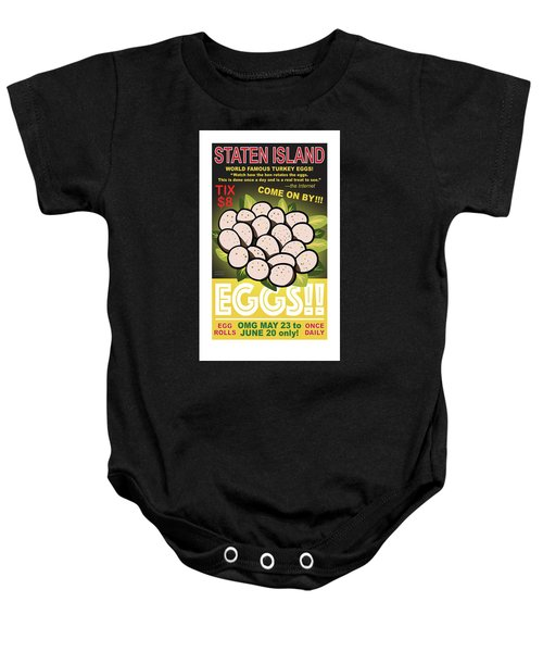Staten Islands Eggs Baby Onesie