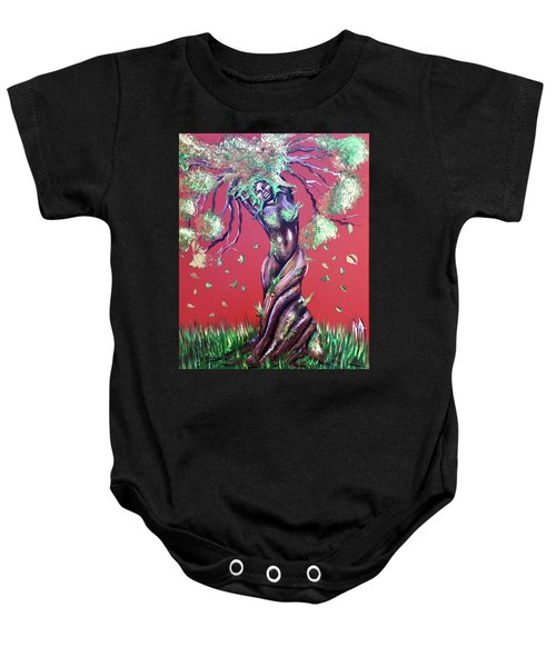 Stay Rooted- Stay Grounded Baby Onesie