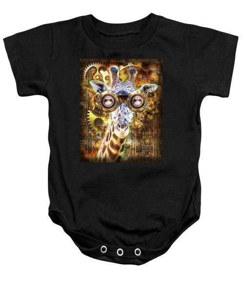 Steam Punk Giraffe Baby Onesie