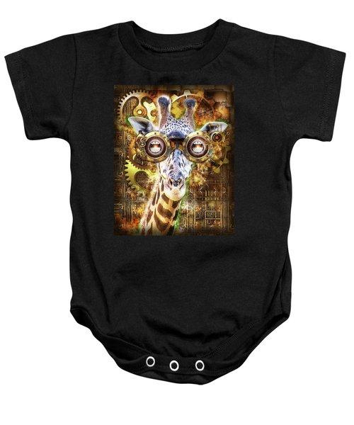 Steam Punk Giraffe Baby Onesie