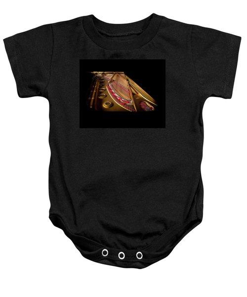 Steinway Guts Baby Onesie