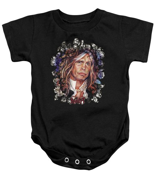 Steven Tyler Aerosmith Baby Onesie