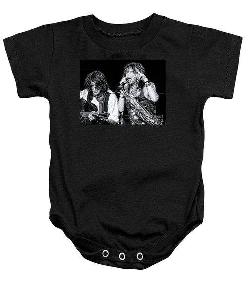 Steven Tyler Croons Baby Onesie
