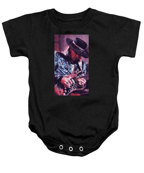 Stevie Ray Vaughan - 25 Baby Onesie