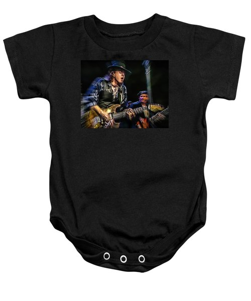 Stevie Ray Vaughan - Couldn't Stand The Weather Baby Onesie