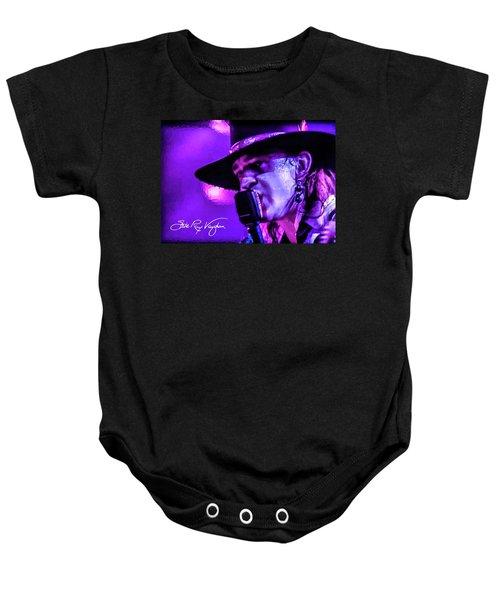 Stevie Ray Vaughan- Voodoo Chile Baby Onesie