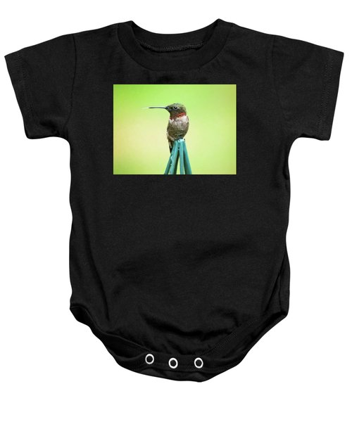 Stick Out Your Tongue Baby Onesie