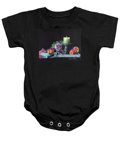 Still Life With Candle Baby Onesie