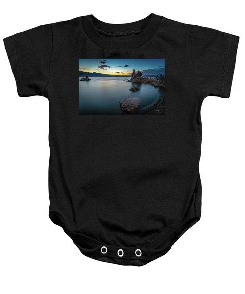 Stillness...mono Lake Baby Onesie