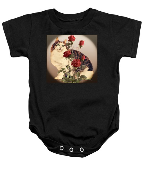 Stop And Smell The Roses Baby Onesie
