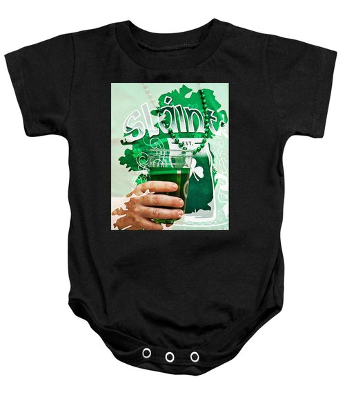 St. Patrick's Day Baby Onesie