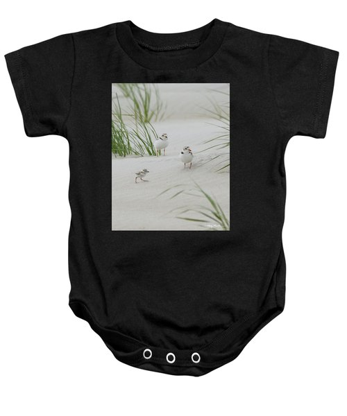 Struggle In The Blowing Sand Baby Onesie