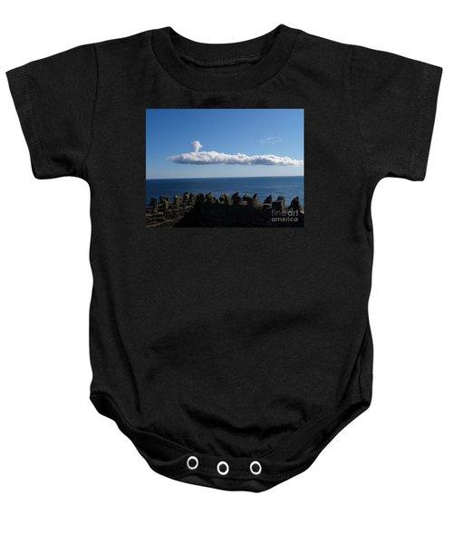 Submarine Cloud Baby Onesie
